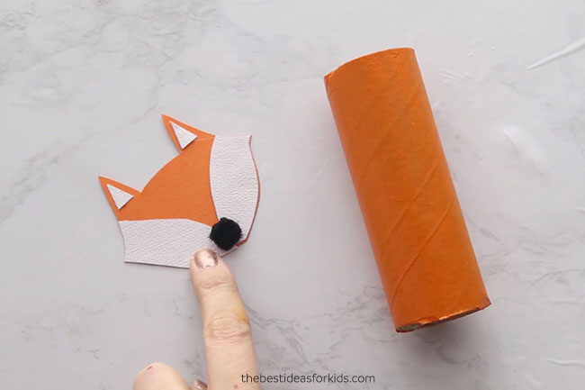 Make a Toilet Paper Roll Fox