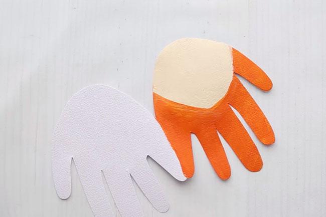 Paint Leprechaun Handprint