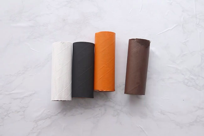 Paint Toilet Paper Roll Animals