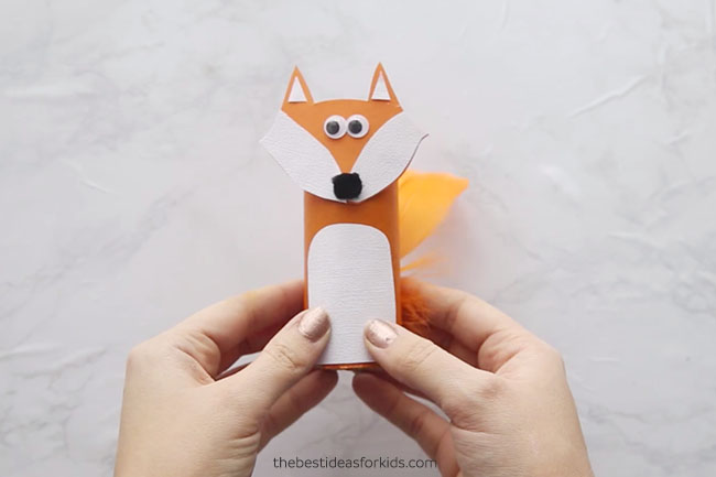 Paper Roll Fox