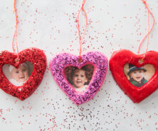 Salt Dough Heart Ornament