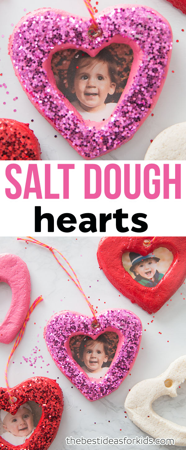 Salt Dough Hearts DIY