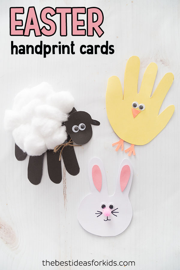 Easter Handprint Cards The Best Ideas For Kids