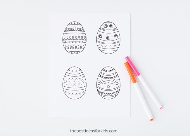 photo about Egg Printable named Easter Egg Template - The Ideal Recommendations for Small children