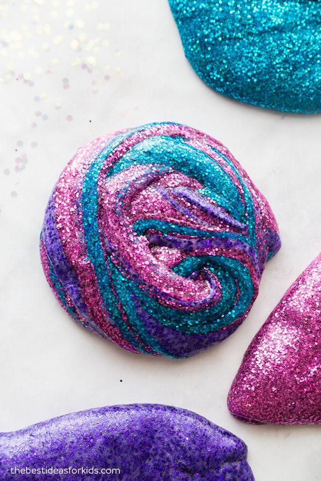 Glitter Slime How to Make