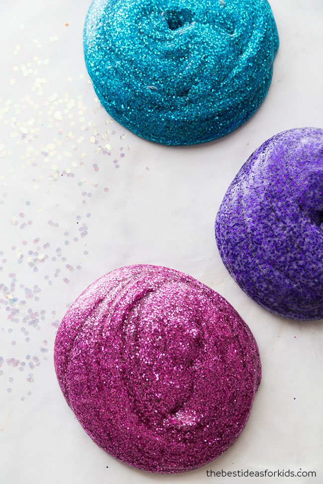 Glitter Slime for Kids
