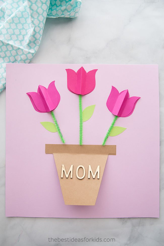 Mother's Day Card Craft for Kids