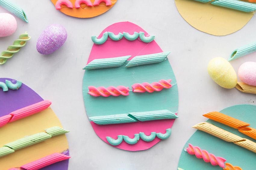 Pasta Easter Eggs - The Best Ideas for Kids