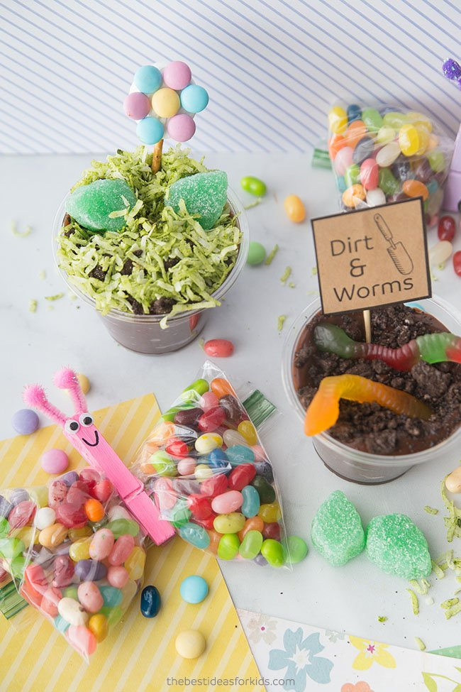 Spring Treat Recipes for Kids