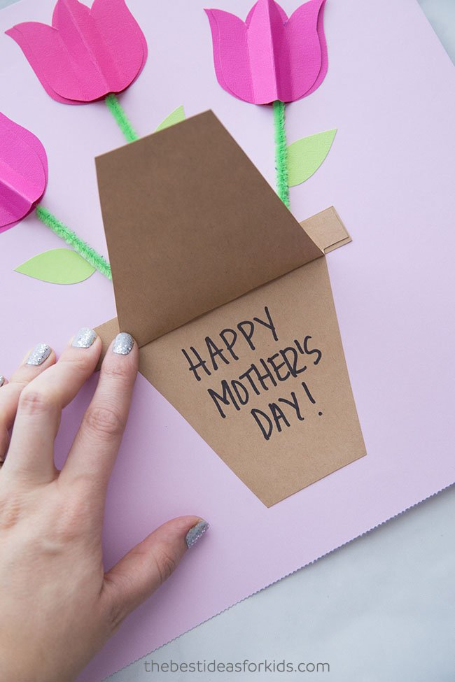 Mother S Day Card Craft The Best Ideas For Kids