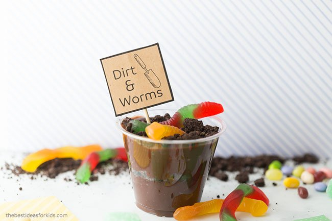 Worms and Dirt Cup