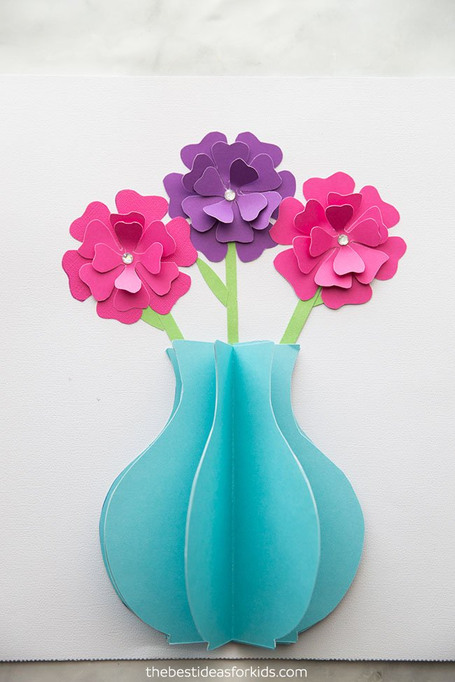 Paper Flower Craft The Best Ideas For Kids