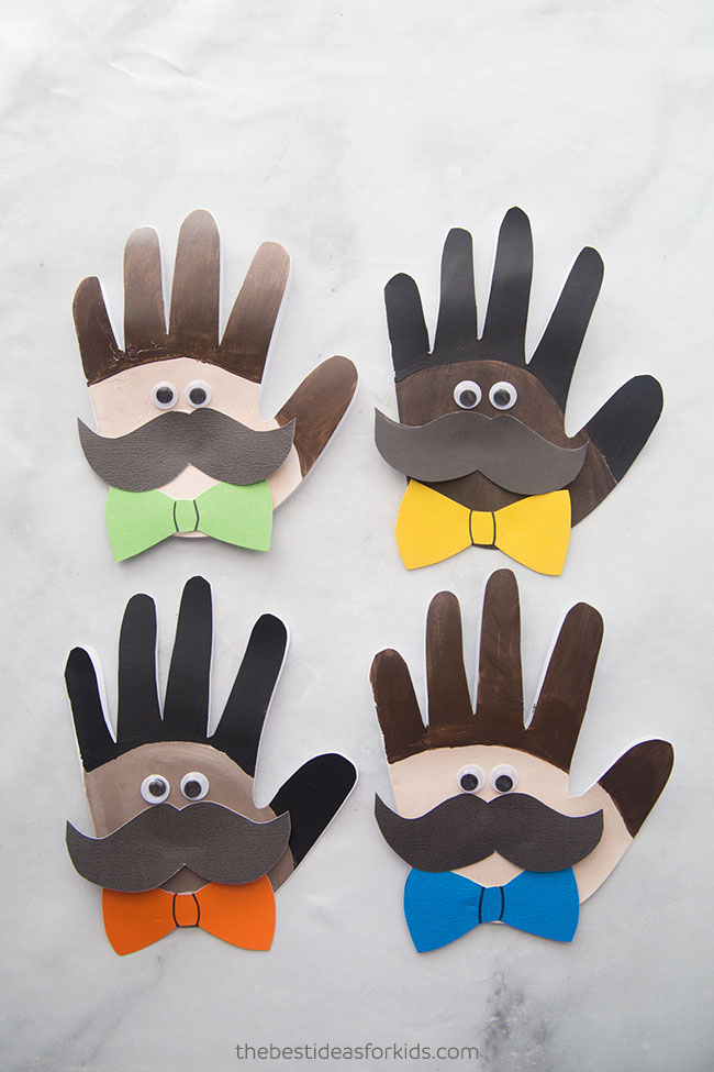 Fathers Day Handprint Craft