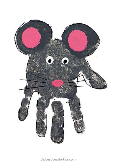 Mouse Handprint