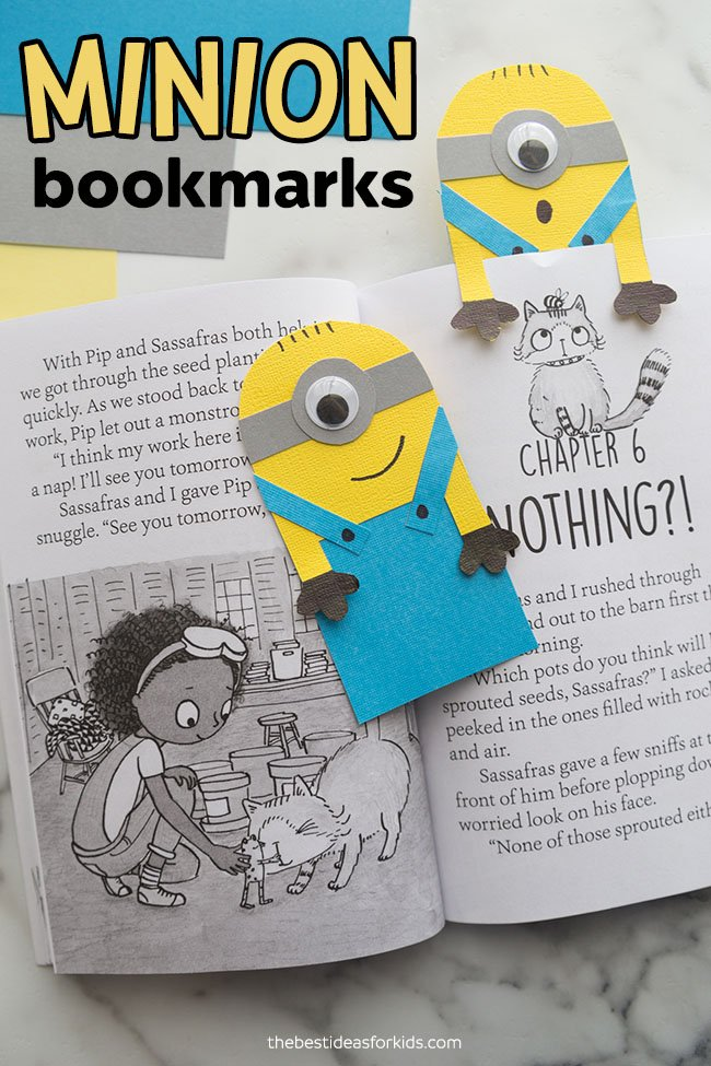 Minion Craft Bookmark
