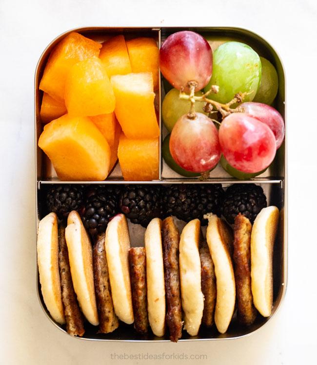 Lunch Box Idea Mini Pancakes