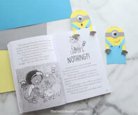 Paper Minion Bookmark