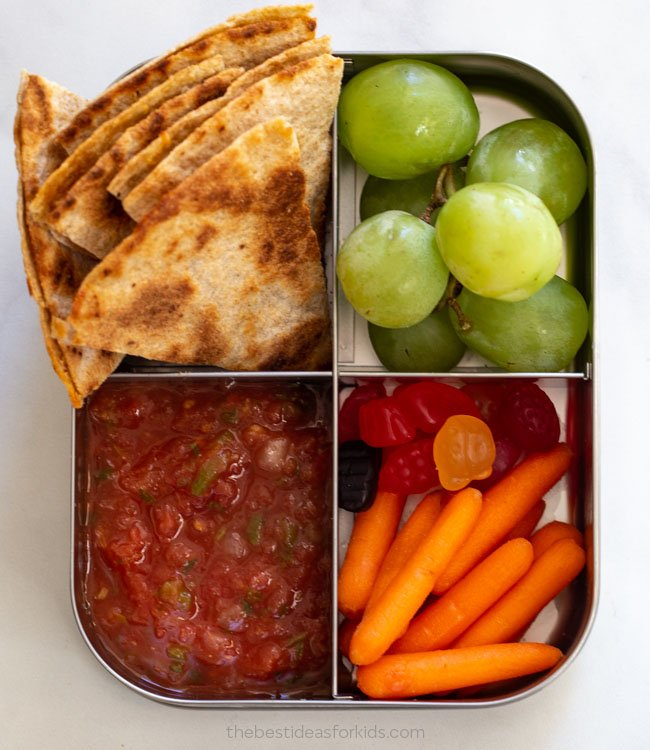 Quesadilla Lunch Box Idea