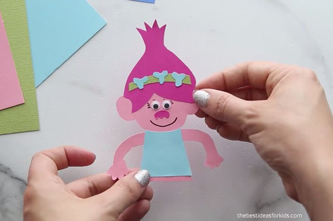 Trolls Poppy Bookmark