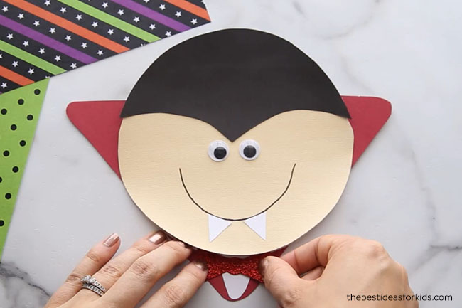 DIY Vampire Card Craft