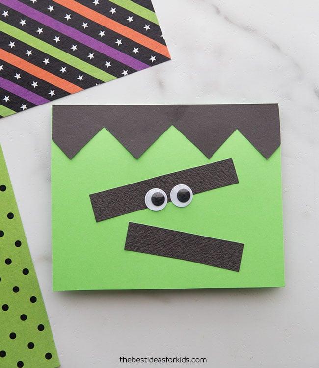 Handmade Frankenstein Card