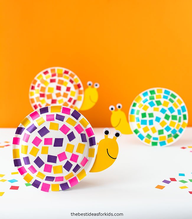 Paper Plate Snail Craft The Best Ideas For Kids