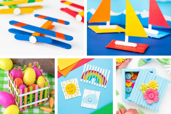 Popsicle Stick Chapter - Craft Book