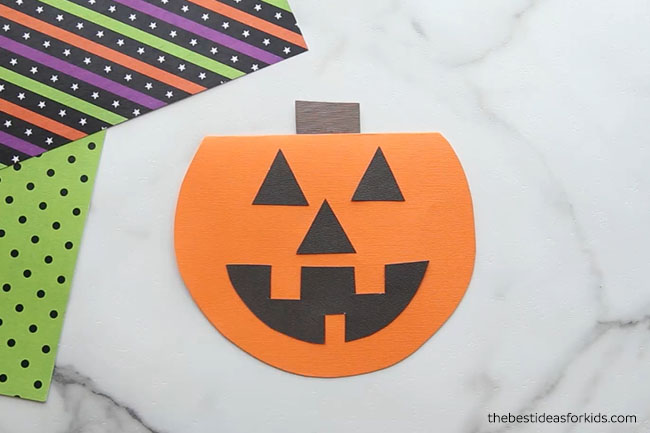 Pumpkin DIY Card
