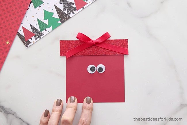 Add Googly Eyes to Present Card