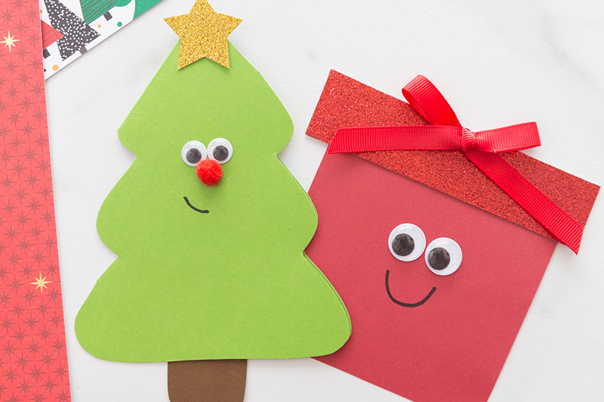 Christmas Tree Card The Best Ideas For Kids Red wooden christmas tree decoration. christmas tree card the best ideas