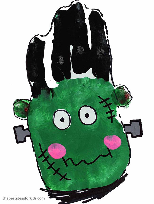 Frankenstein Handprint