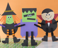 Halloween Clothespins Characters
