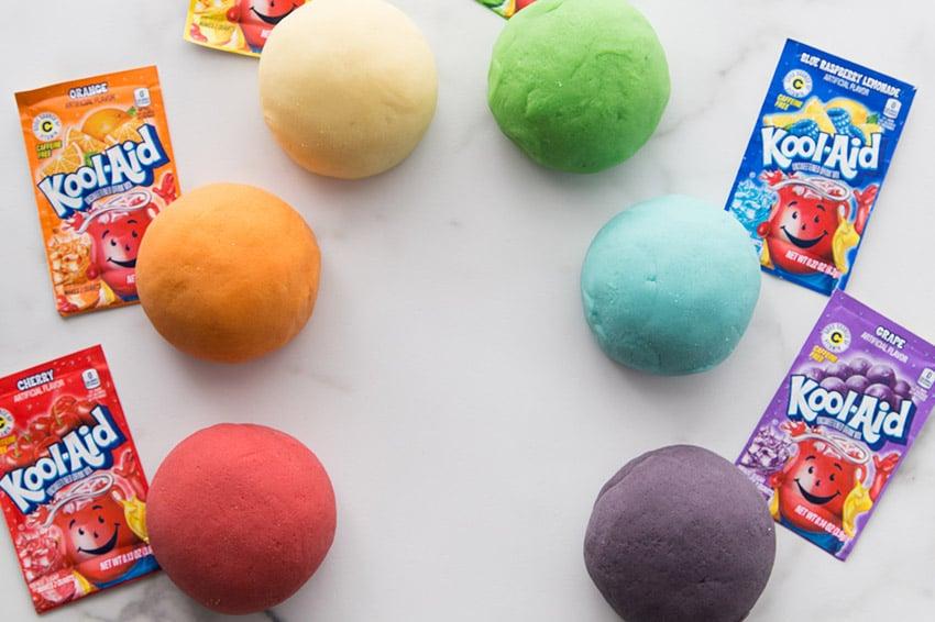 Kool-Aid Playdough Recipe - The Best