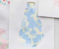 Christmas Tissue Paper Art
