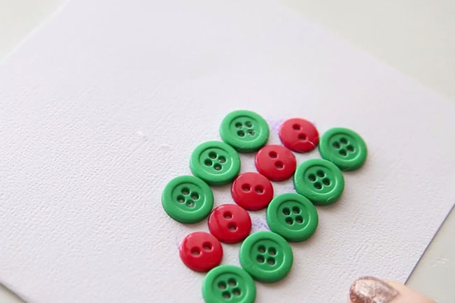 Christmas Tree Layer Buttons