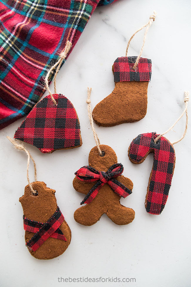 Cinnamon Applesauce Ornaments Recipe