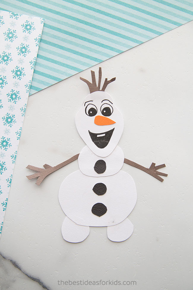 Olaf Craft With Free Printable The Best Ideas For Kids