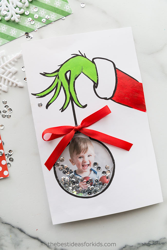 Grinch Card Homemade