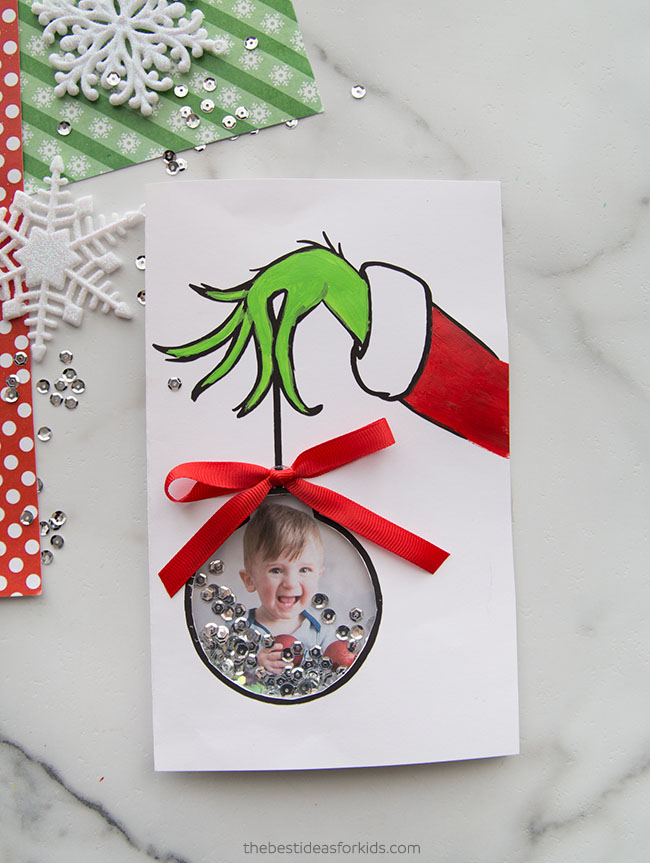 Grinch Card Idea