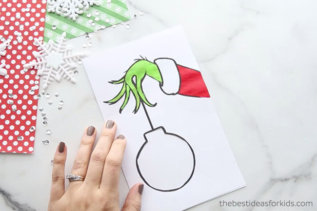 Paint Grinch Card