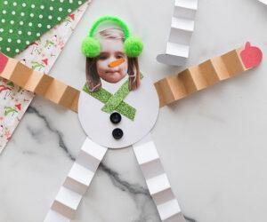 Paper Snowman Craft