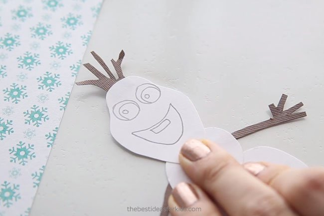 Sketch Out Olaf Bookmark