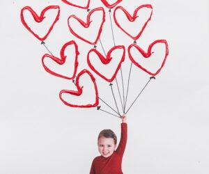 Balloon Heart Craft