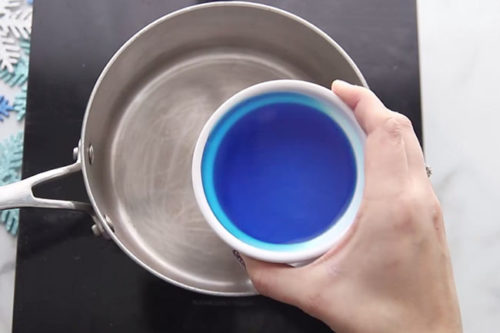 Mix Food Coloring and Water for Playdough