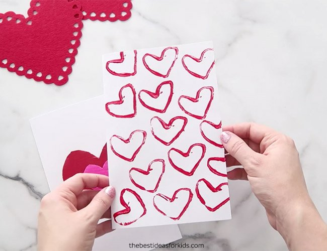 Recycled Valentine Cards to Make