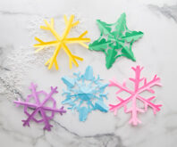 Snowflake Template Cover