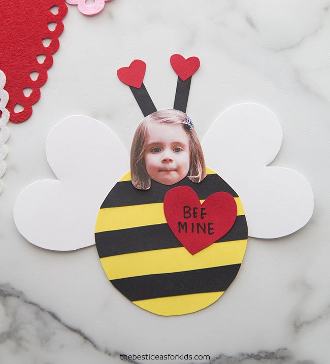 Valentine Bee Mine Craft