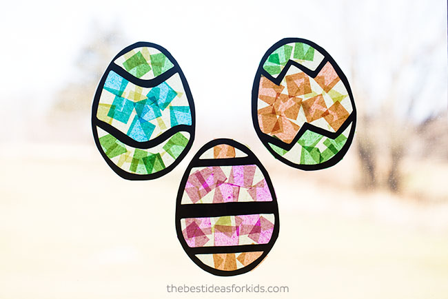 How to Make Easter Suncatchers