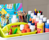 Kids Art Storage