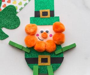 Leprechaun Clothespin Craft